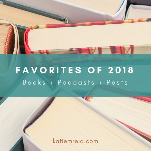 Favorite books and podcasts and posts of 2018 list