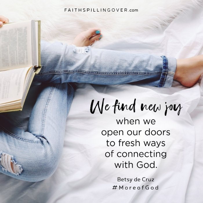 Connect with God by Betsy de Cruz