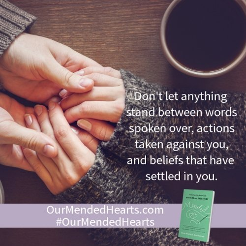 Don't let anything stand between you as mother and daughter quote by Blythe Daniel and Dr. Helen McIntosh