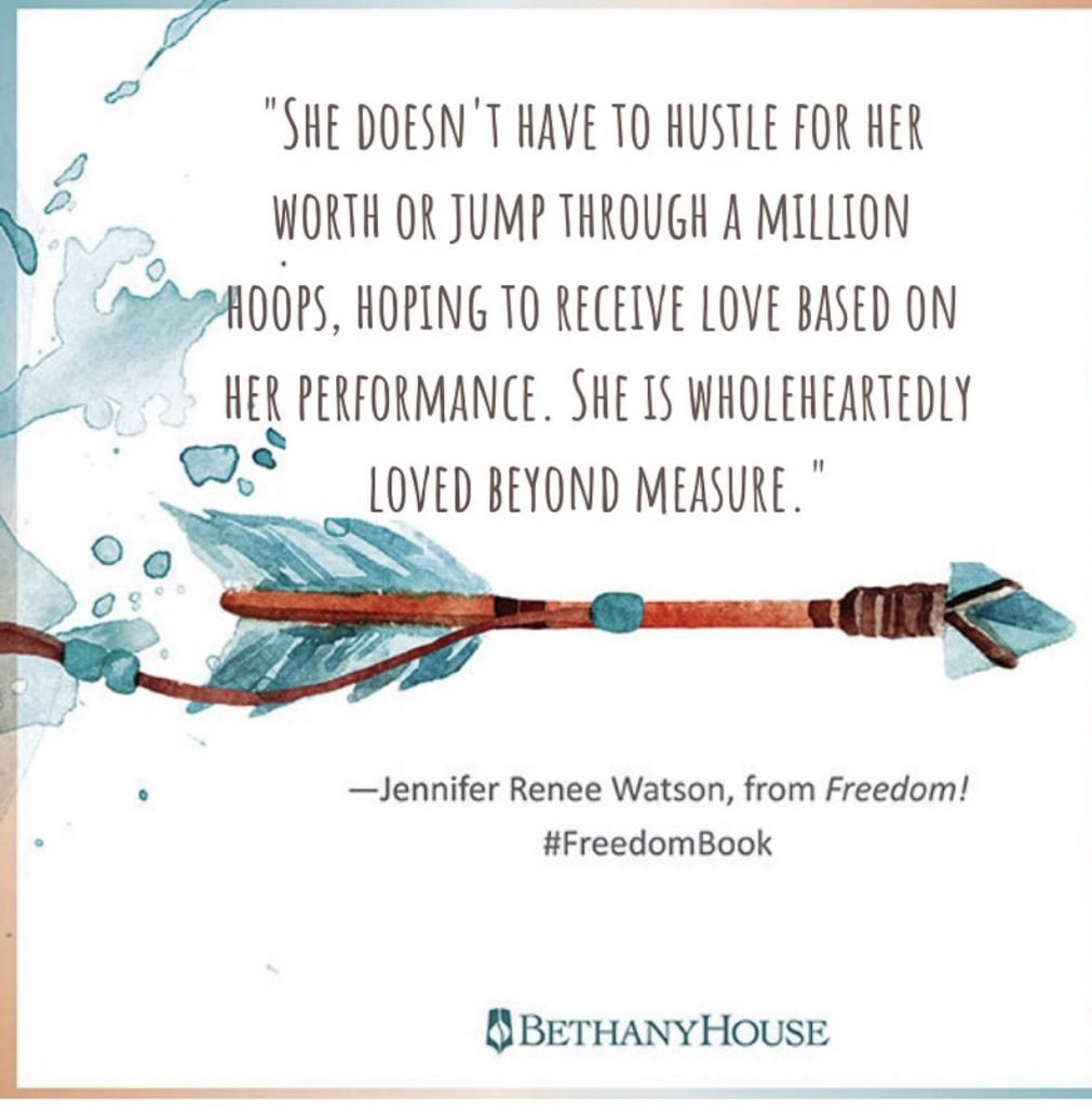 Loved beyond measure Quote by Jennifer Renee Watson author of Freedom Breakthrough book