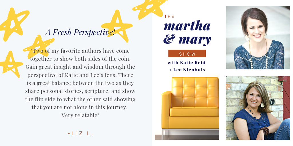 5 star review Martha Mary Show from Liz