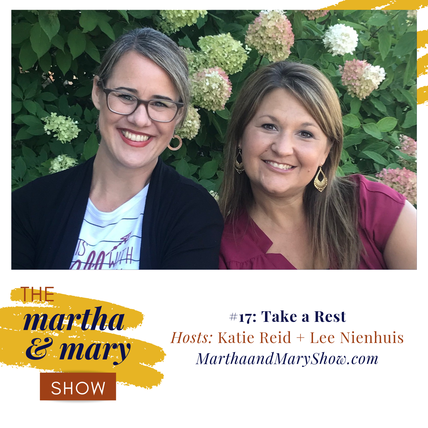 Take a Rest Katie Reid Lee Nienhuis hosts Martha Mary Show