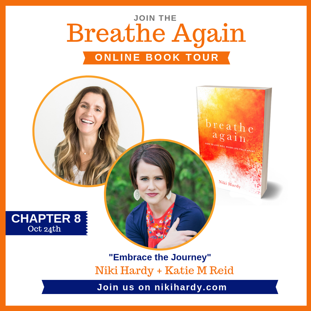 Breathe Again Book Tour Niki Hardy Katie Reid