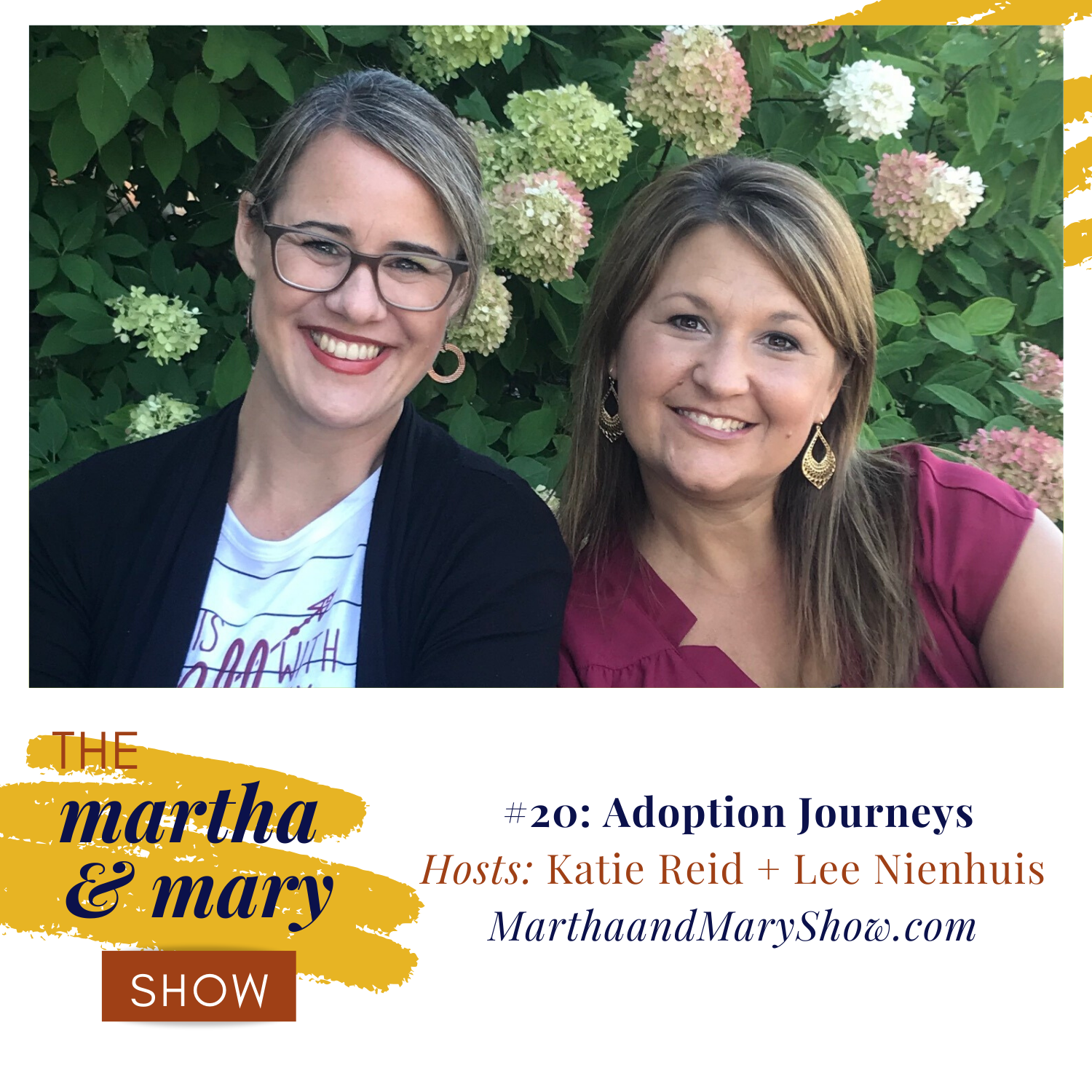Adoption Journeys Episode 20 Martha Mary Show Lee Nienhuis Katie Reid podcast