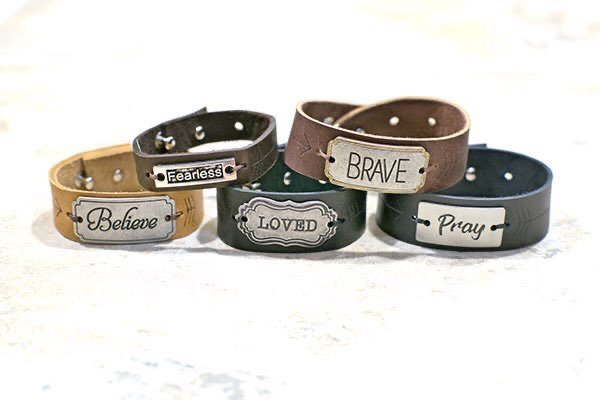 Leather Bracelets Lee Nienhuis BRave