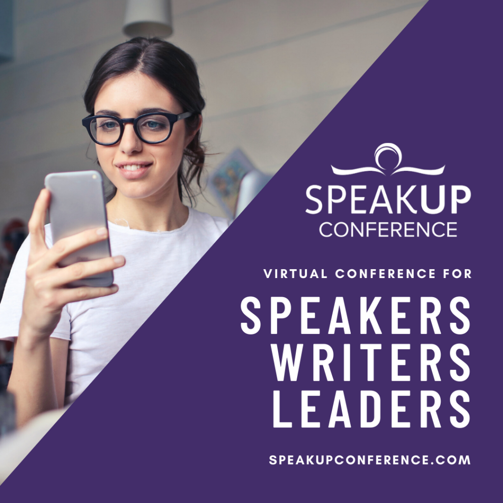 Virtual Conference for Writers Speakers Leaders Carol Kent Speak Up Conference Katie Reid