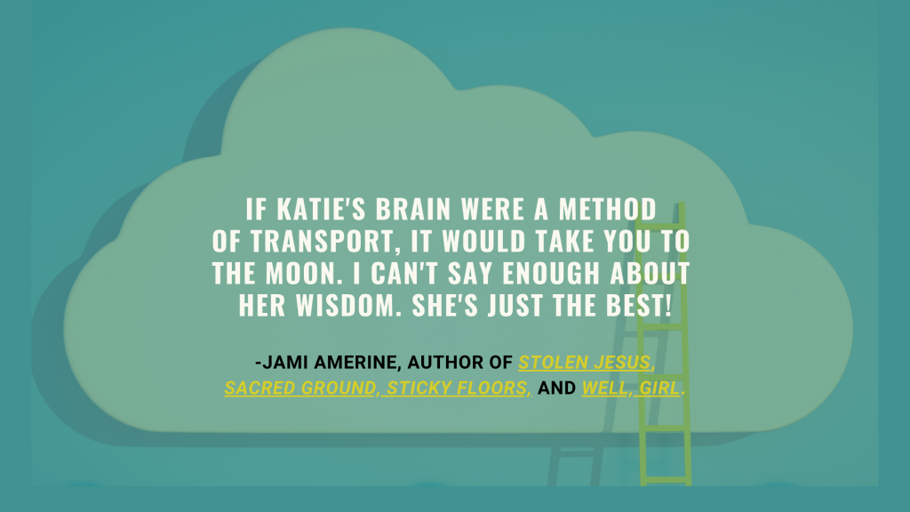 Jami Amerine endorsement for Katie Reid creative coaching Inspiration Doula