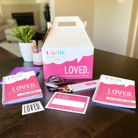 U & Me Conversation Kits for Parents from GEMS Girls Clubs