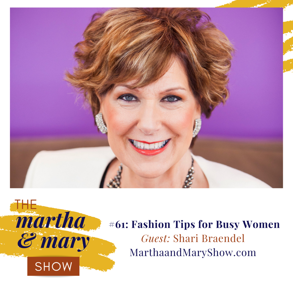 fashion tips shari braendel martha mary show fall style