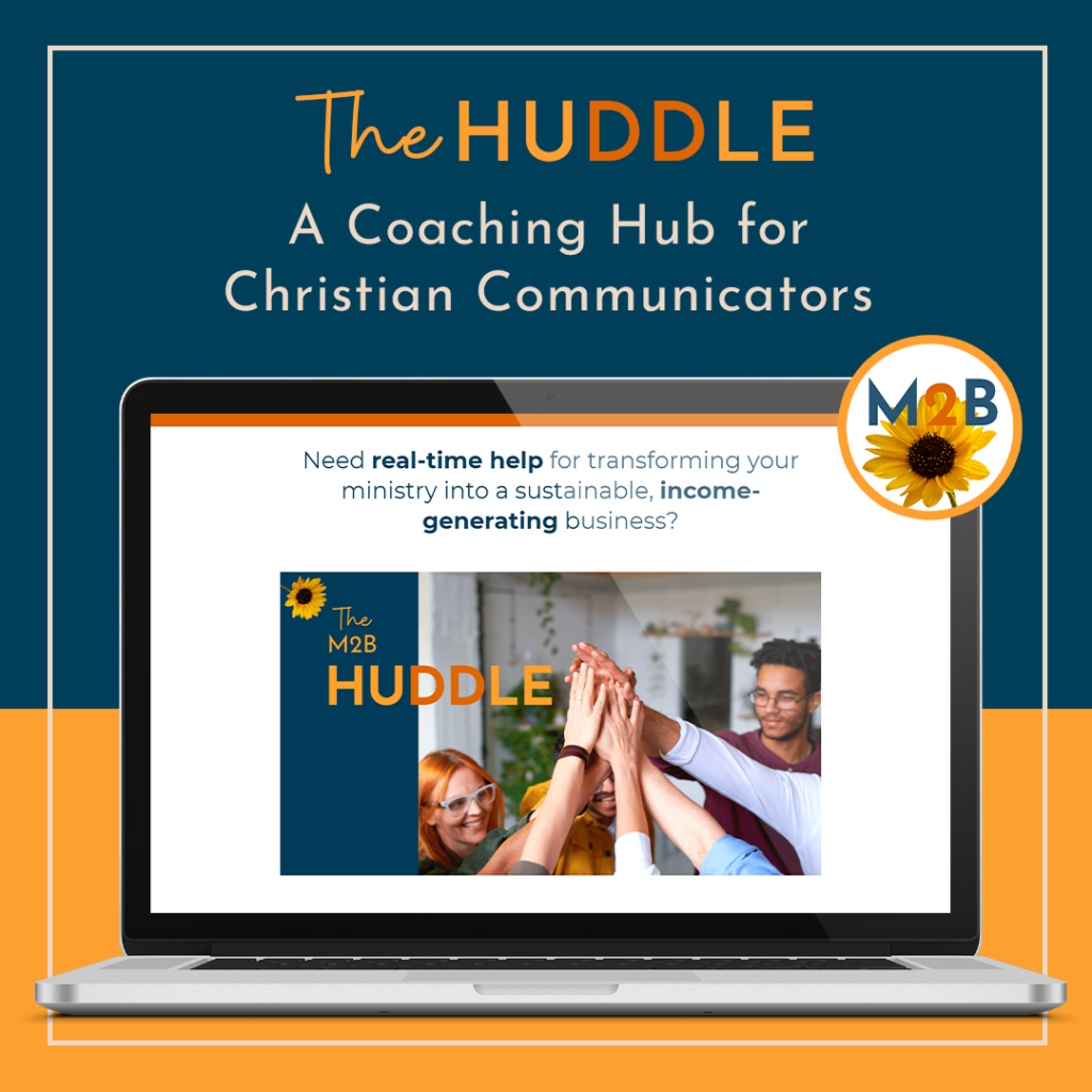 Join the M2B Huddle Coaching Hub