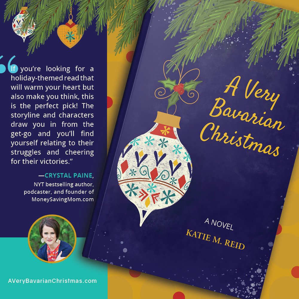 Crystal Paine endorsement A Very Bavarian Christmas book by Katie M. Reid