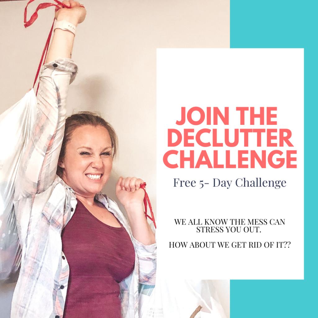 Declutter Challenge Renae Fieck