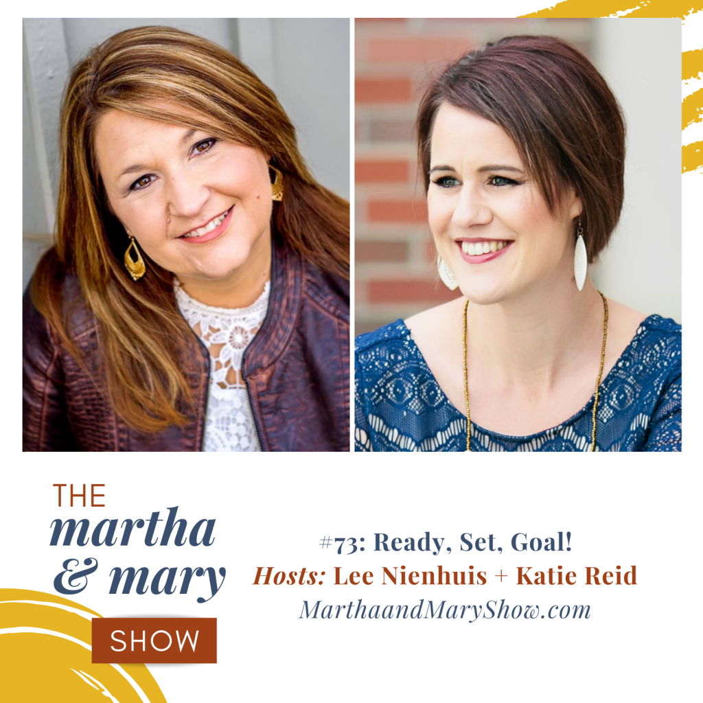 Ready, Set, Goal Episode 73 of Martha Mary Show