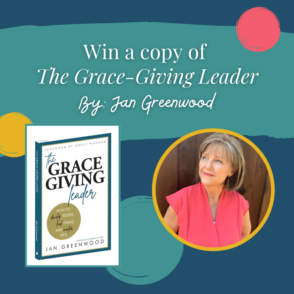 Grace Giving Leader Giveaway Jan Greenwood