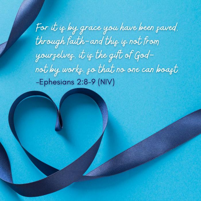 Ephesians 2:8-9 NIV gift of God