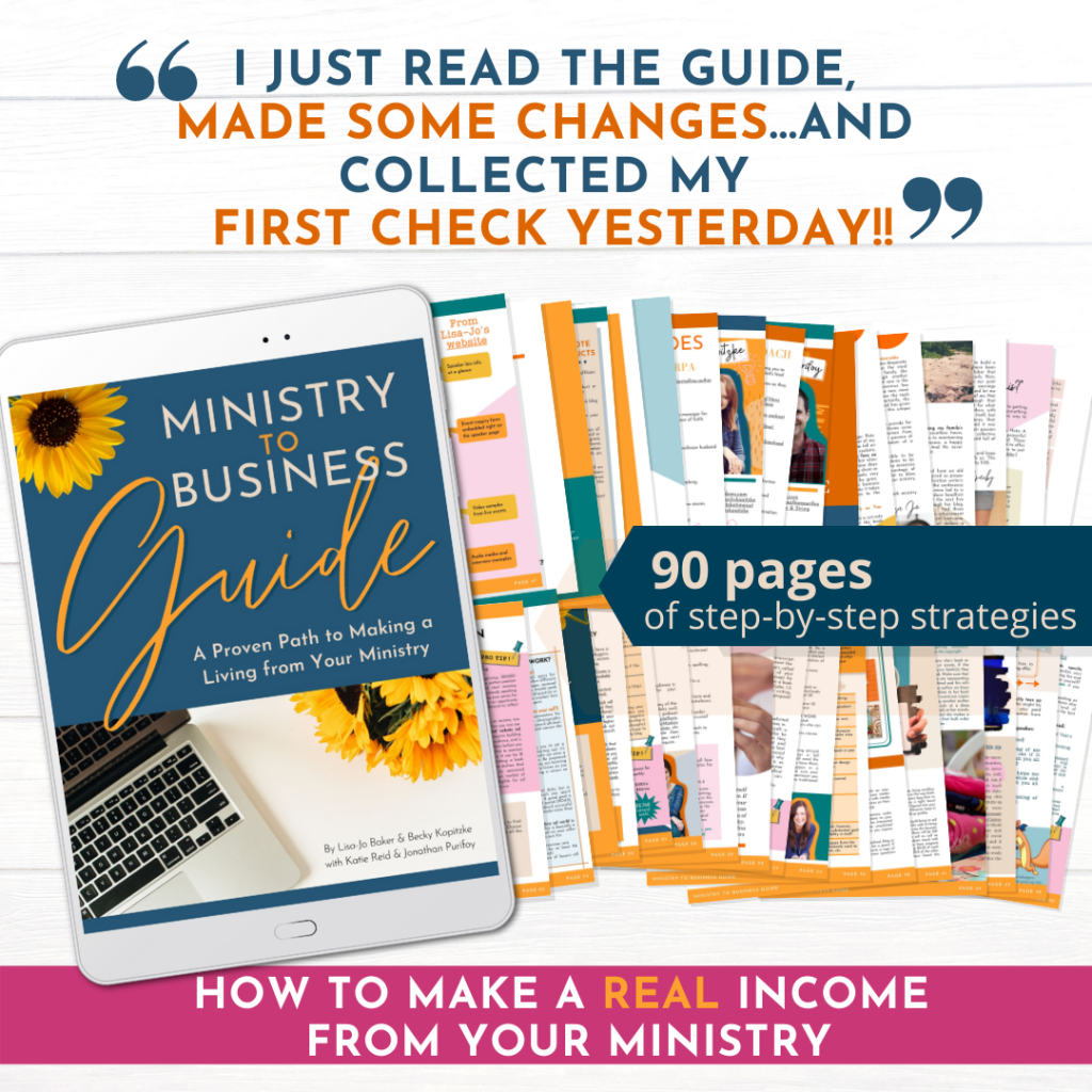 first paycheck ministry to business guide