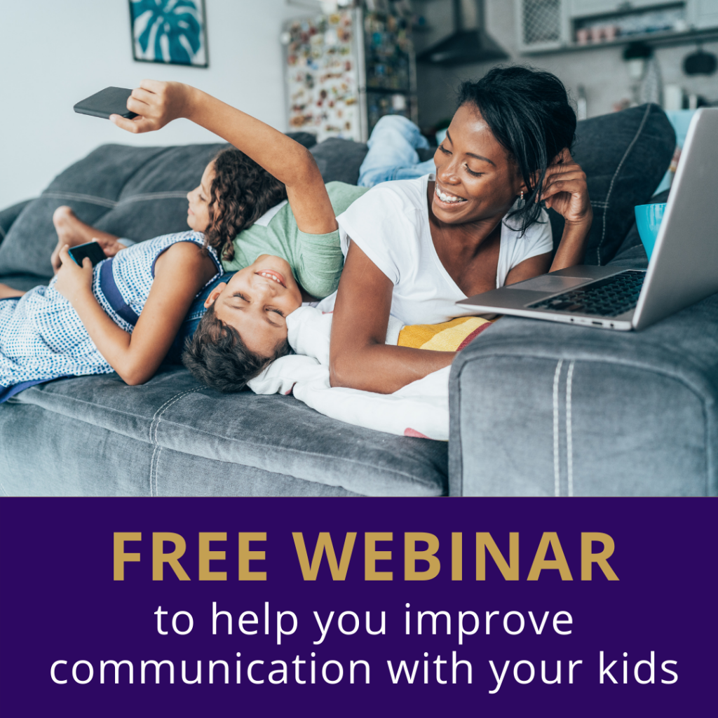 Free parenting webinar to improve parents communication with their kids SocialWised U